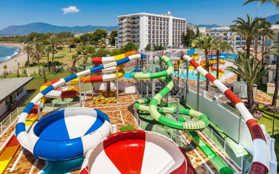 Waterpark SPLASHWORLD Playa Estepona in Costa del Sol, Spanje