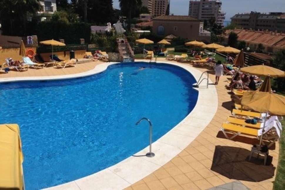 Zwembad van Torreblanca Hotel in Fuengirola, Spanje