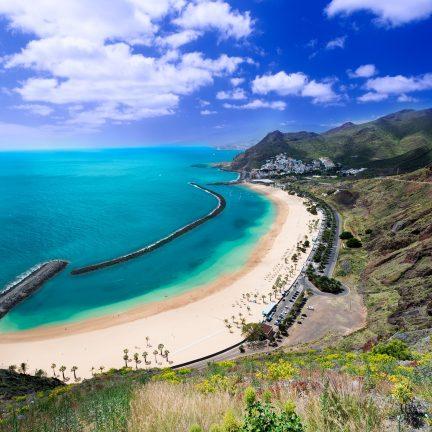 Playa de Las Teresitas strand op Tenerife