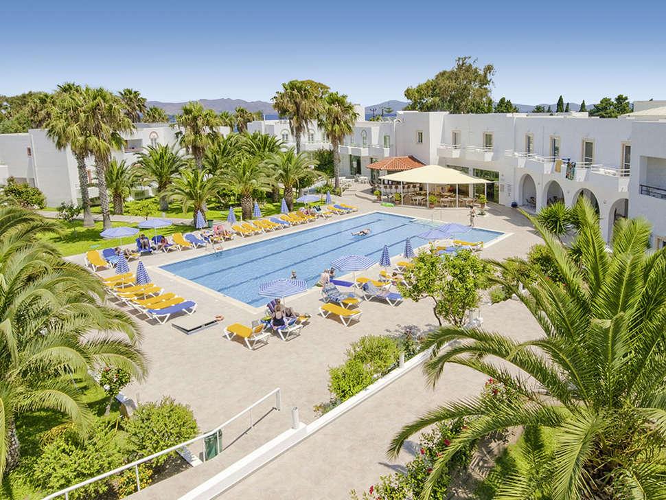Voor 345 naar 4 sterren alexandra beach hotel op kos - Omtrek zwembad ...