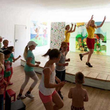 Kinderanimatie op Camping Bella Austria in Sankt Peter am Kammersberg, Oostenrijk