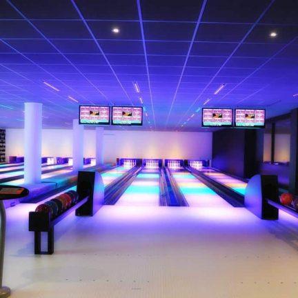 Bowlingbaan van Hampshire Hotel Fitland Uden in Uden, Brabant