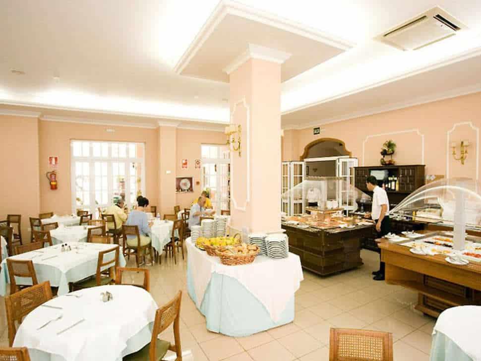 buffet van Hotel Marte in Puerto de la Cruz op Tenerife, Canarische Eilanden