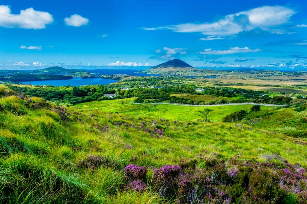 Connemara National Park in Ierland