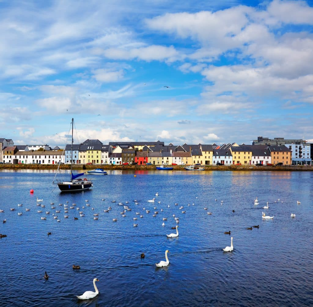 Galway in Ierland