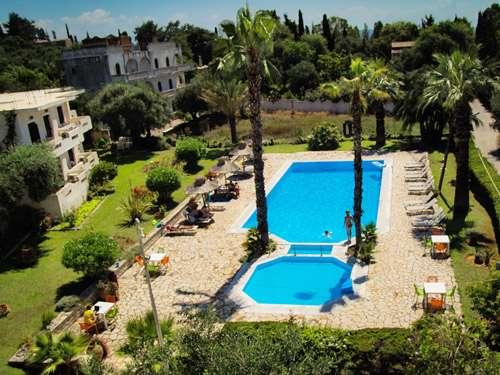Gerekos Apartments in Kontokali op Corfu