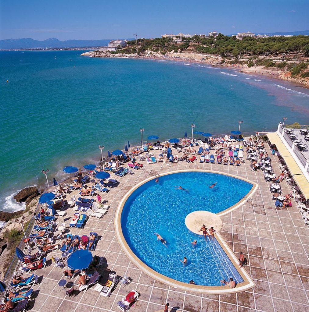Ligging van Hotel Best Negresco in Salou, Spanje