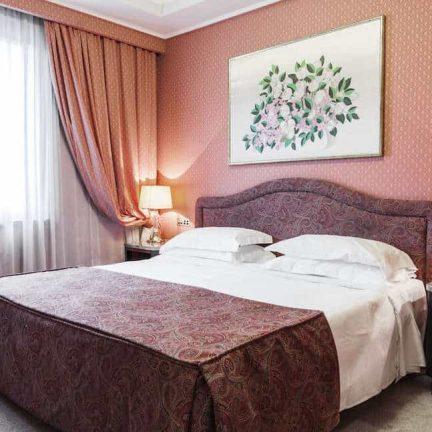 Hotelkamer in Adi Doria Grand Hotel in Milaan, Italië