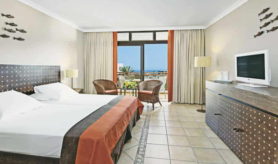 Hotelkamer van Hotel Sandy Beach in Playa del ingles, Gran Canaria