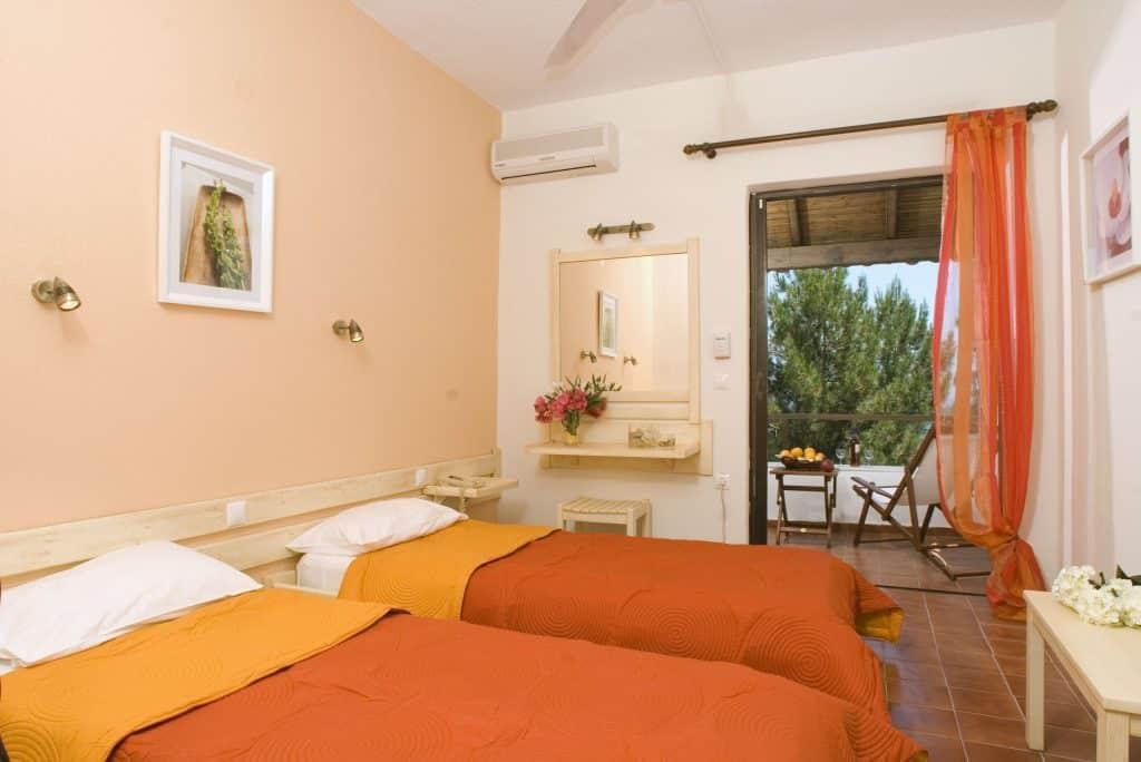 Hotelkamer van Nautilus Barbati in Barbati, Corfu