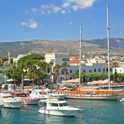 Jachthaven van Kos-Stad, Griekenland