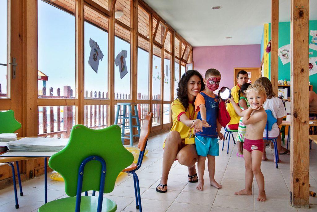 Miniclub van Paradise Beach in Sunny Beach, Bulgarije