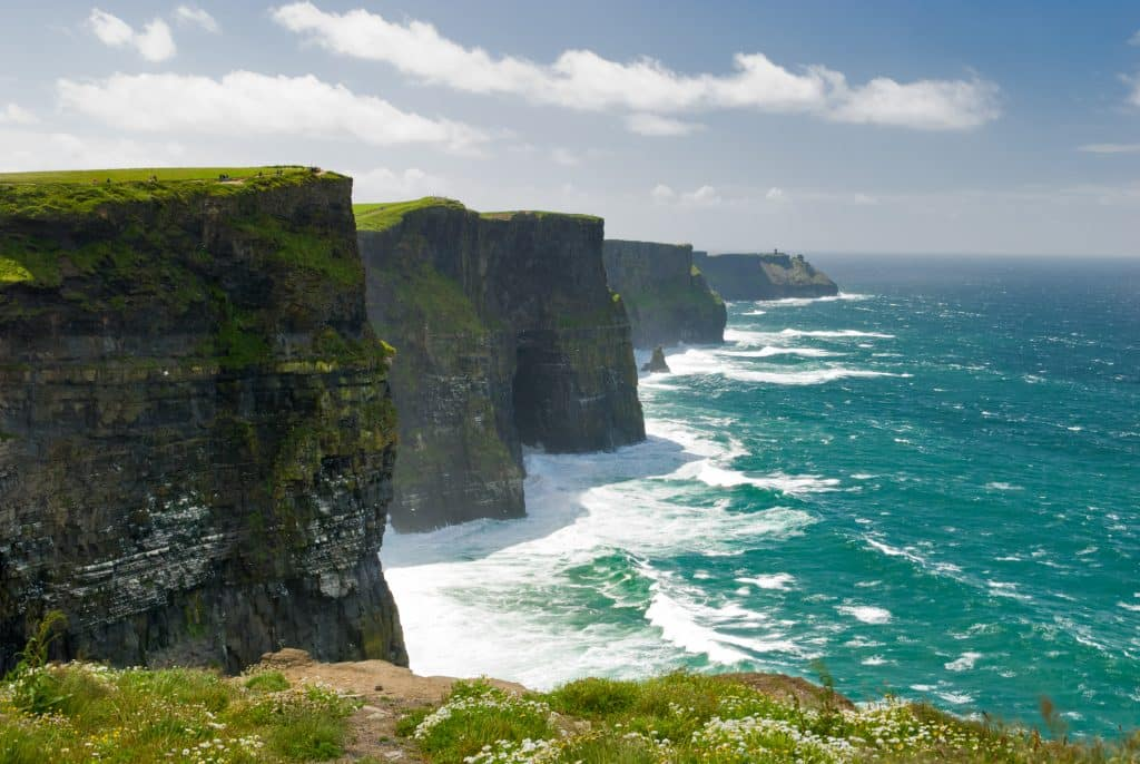 Cliffs of Moher in Ierland