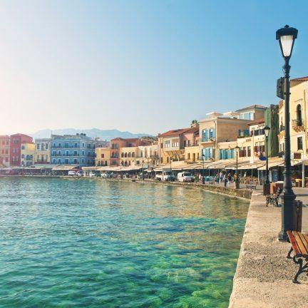 Diverse accommodaties in Kreta, Griekenland