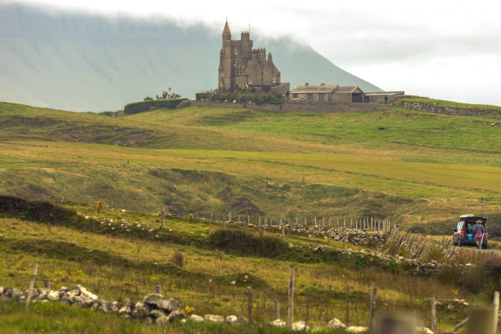 Classiebawn Castle in Mullaghmore, Ierland