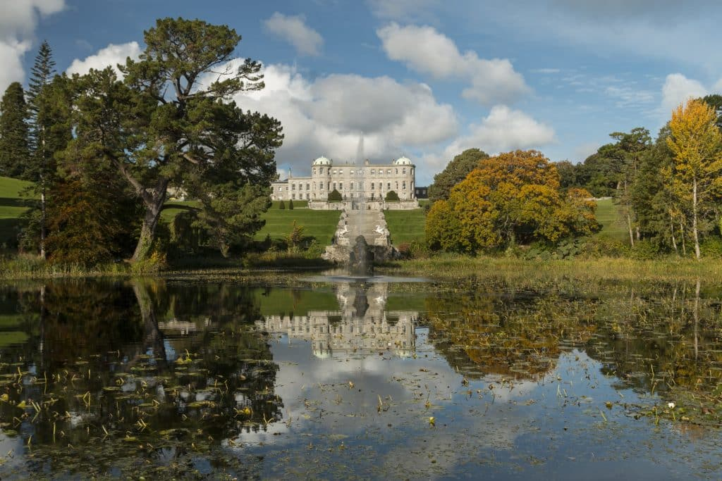 Powerscourt Estate in Ierland
