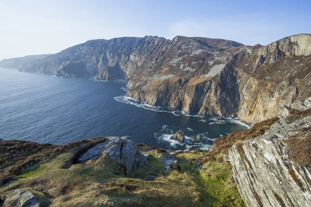 Slieve League in Ierland