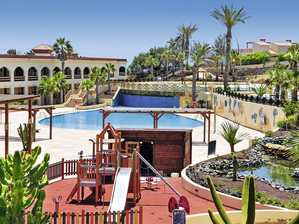 Kinderbad van Hotel Jandia Golf in Morro Jable, Fuerteventura
