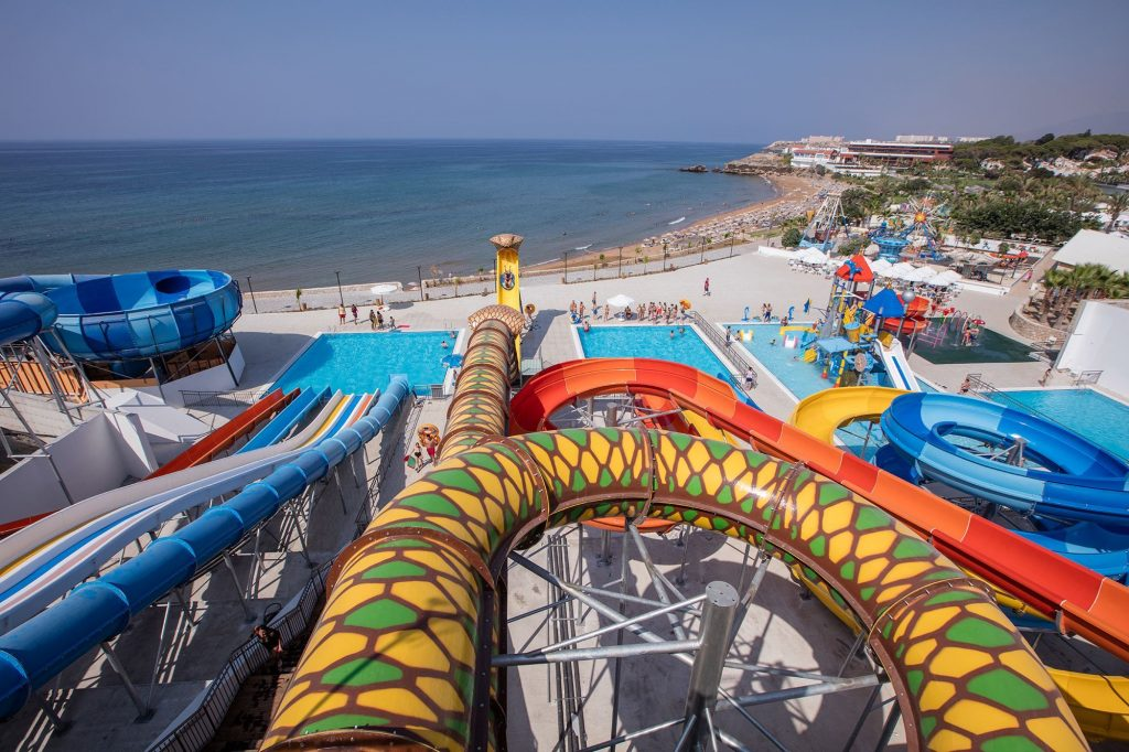 Strand van Acapulco Resort in Kyrenia, Cyprus