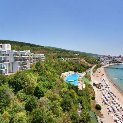 Paradise Beach in Sunny Beach, Bulgarije