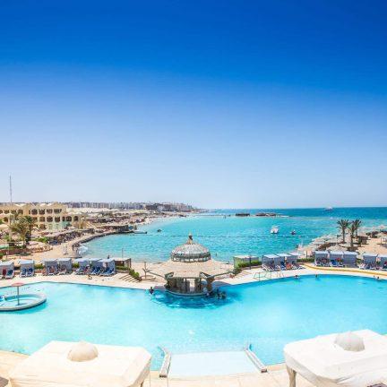 Sunny days Palma de Mirette in Hurghada, Egypte