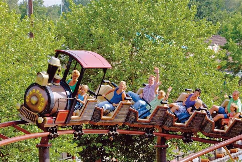 Attractie- en vakantiepark Slagharen in Slagharen, Overijssel