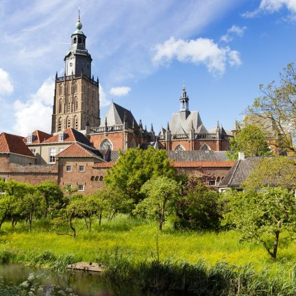 Zutphen in Gelderland, Nederland