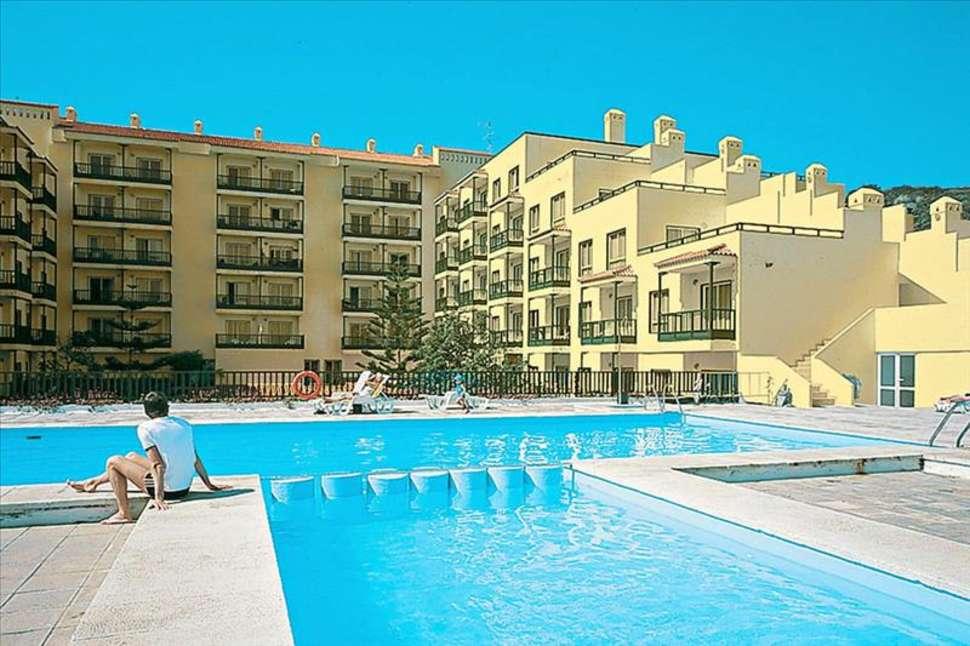 Zwembad van appartementen centro cancajos in Los Cancajos, La Palma