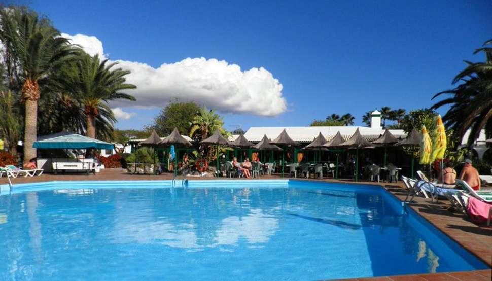 Zwembad van Canary Garden Cub in Maspalomas op Gran Canaria, Spanje
