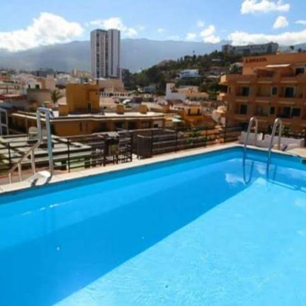 Hotel Tropical en appartementen Park Plaza in Puerto de la Cruz, Tenerife