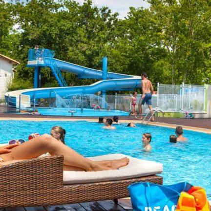 Zwembad van Le Domaine De Soulac in Soulac Sur Mer, Frankrijk