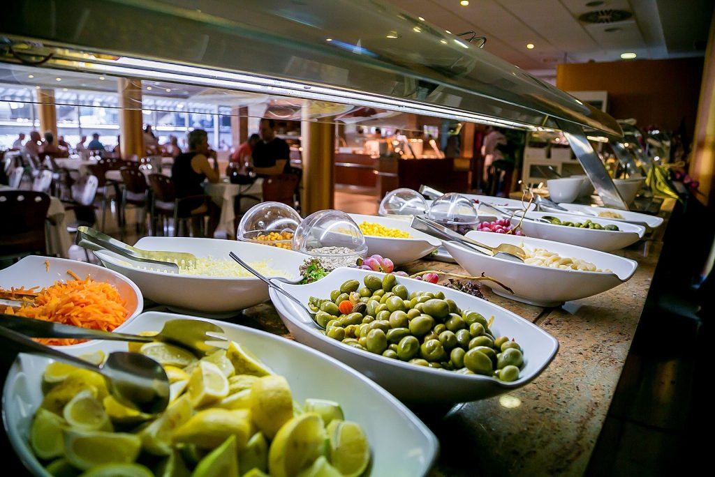 Restaurant van hotel Sun Palace Albir in Spanje