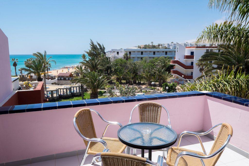 Balkon van een Hotelkamer van SBH Fuerteventura Playa  in Costa Calma, Fuerteventura