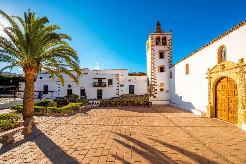 Voormalige hoofdstad Betancuria op Fuerteventura