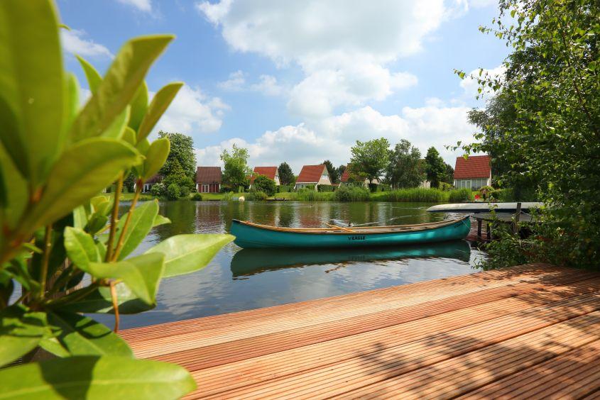Boot van Vakantiepark Emslandermeer in Vlagtwedde, Groningen