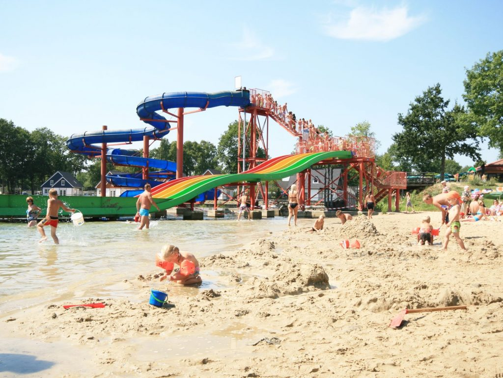 Glijbanen EuroParcs Resort Limburg in Susteren, Limburg