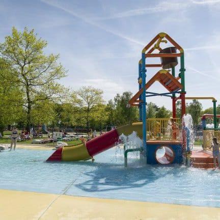 Buitenspeelplaats van Vakantiepark de Westerbergen in Echten, Drenthe
