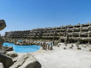 Caves Beach Resort in Hurghada, Egypte