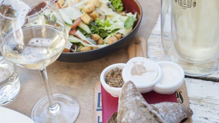 Eten uit het restaurant van Hotel Restaurant Victoria