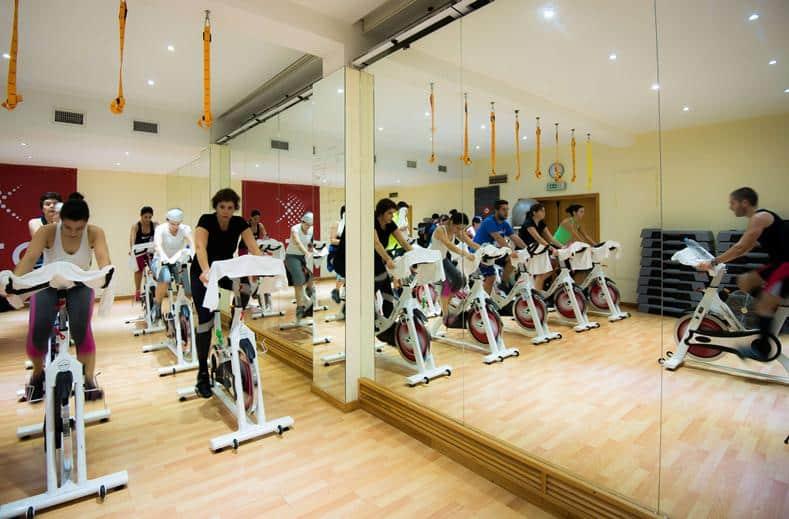 Fitnesscenter van Lagoa Sete Cidades op de Azoren, Portugal