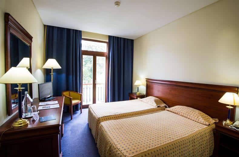 Hotelkamer van Lagoa Sete Cidades op de Azoren, Portugal
