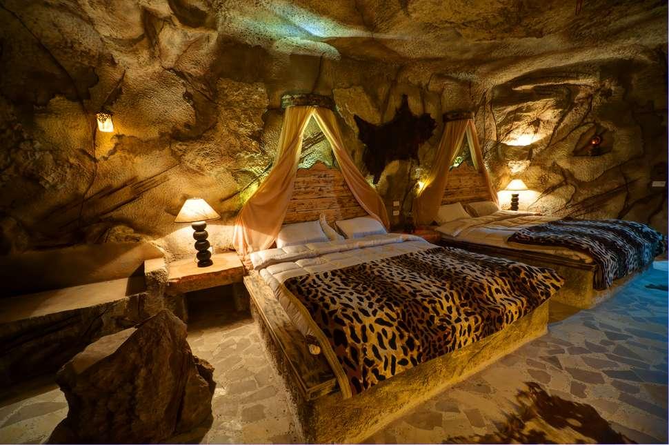 Hotelkamer van Caves Beach Resort in Hurghada, Egypte