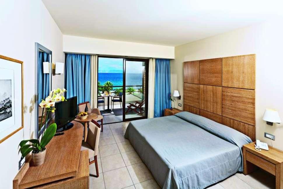 Hotelkamer van D'Andrea Mare Beach Resort in Trianda, Rhodos