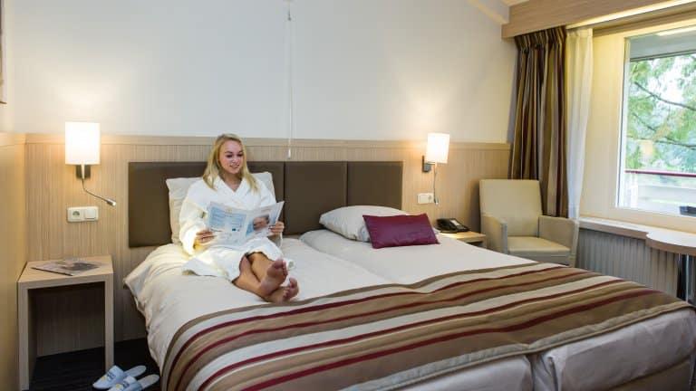 Hotelkamer van Fontana Resort Bad Nieuweschans in Bad Nieuweschans, Groningen