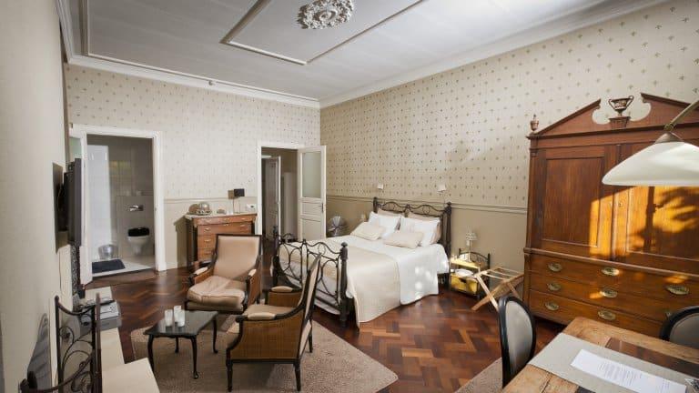 Hotelkamer van hotel het Heerenhuys in Ruinerwold, Drenthe