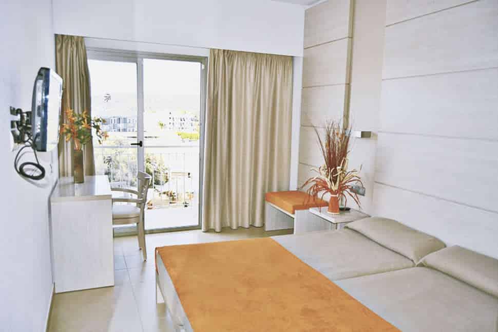 Hotelkamer van Hotel Puchet in Sant Antoni de Portmany , Ibiza