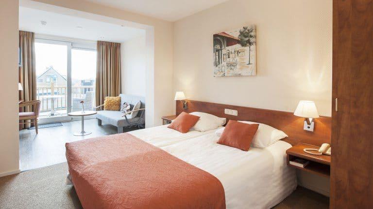 Hotelkamer van Hotel Restaurant Victoria