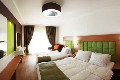 Hotelkamer van Hotel Woxxie in Turgutreis, Turkije
