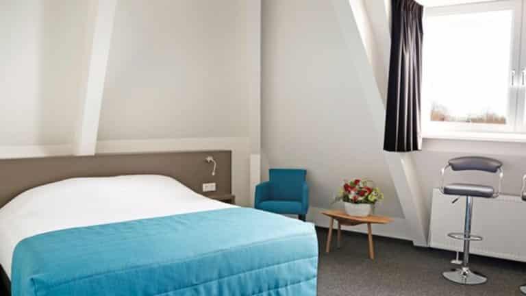 Hotelkamer van Hotelletje de Veerman in Oost-Vlieland, Vlieland