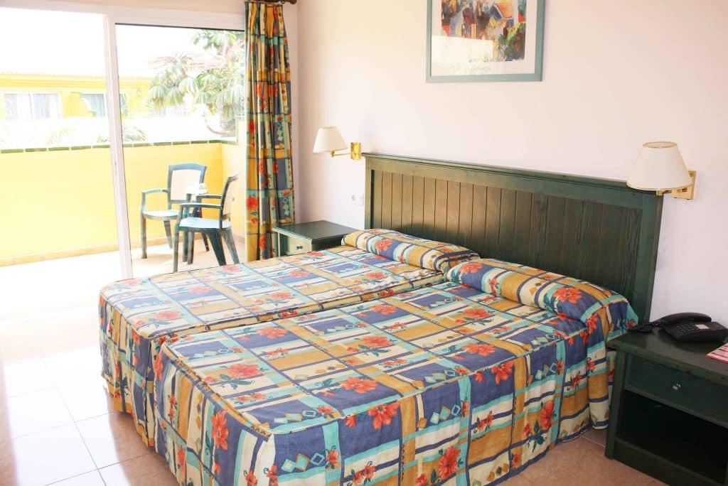 Hotelkamer van Oasis Village in Corralejo, Fuerteventura